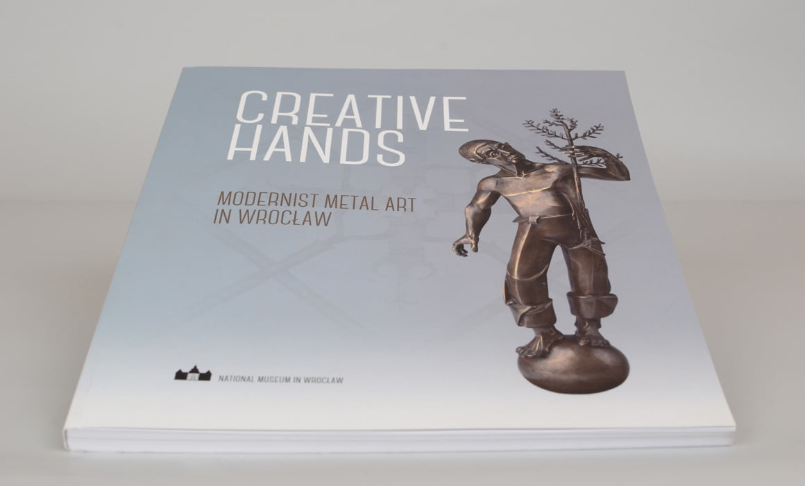 agencja reklamowa wydawnictwa książkowe edytorstwo projektowanie DTP Stwórcze ręce książka english version Creative hands National Museum in Wroclaw Poland